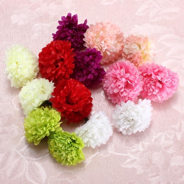 Artificial Daisy Flower Silk Spherical Heads Bulk Home Party Wedding