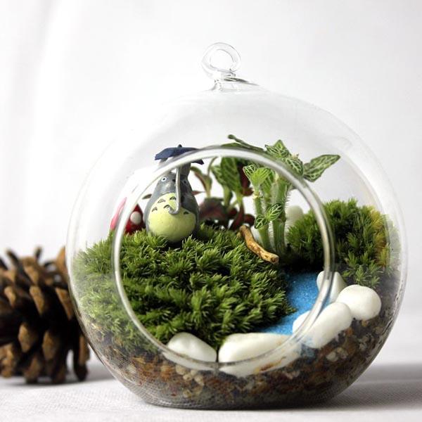 diy micro landscape moss