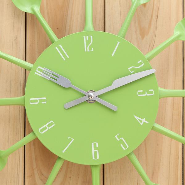 Spoon Fork Wall Clock