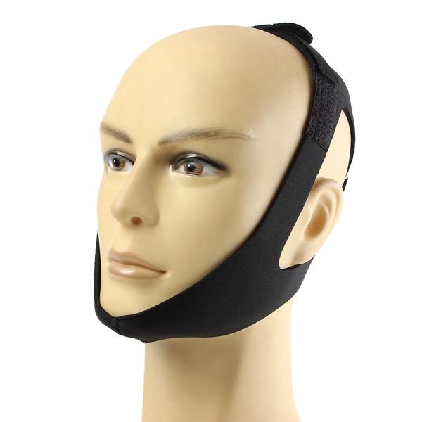 Anti Snoring Chin Strap Snore Stopper Sleep Belt Brace Device