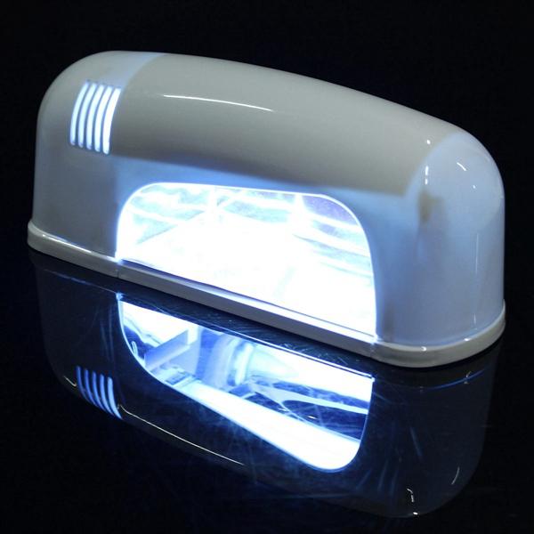 220V 9W 30 Color UV Gel Lamp Acrylic Manicure Nail Art Set Brush Cleanser