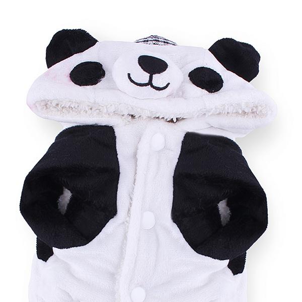 Pet Yuppie Panda Jumpsuit