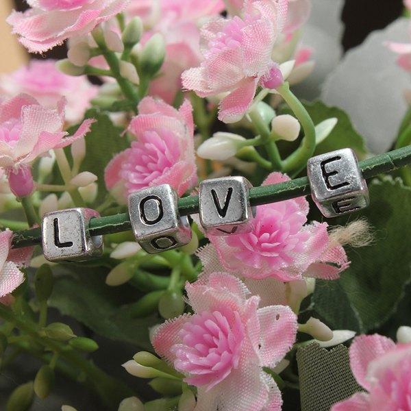 Acrylic Alphabet Beads DIY Bracelet