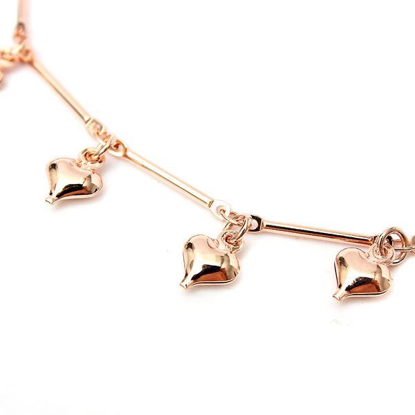 Hearts Bell Bracelet Anklet