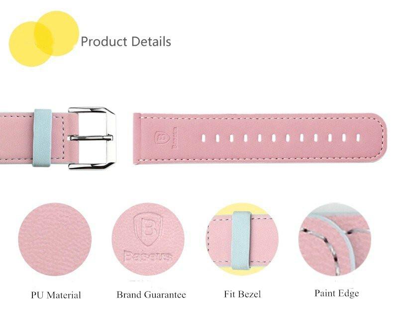BASEUS Soft PU Leather Watchband  Apple Watch