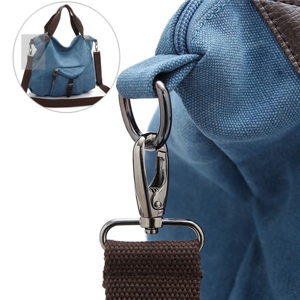 Metal Hook Of Multi Pocket Canvas Bags