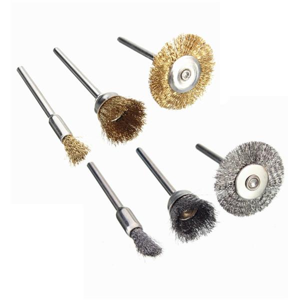 Copper Steel Wire Polishing Wheel Brush