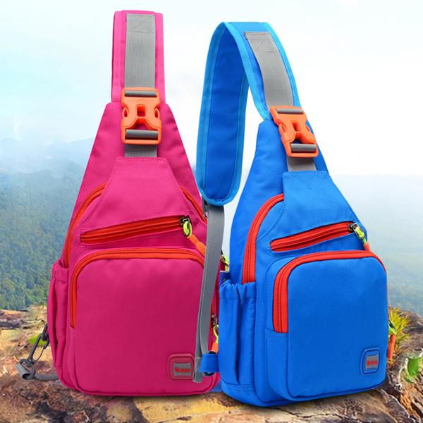 Nylon Waterproof Outdoor Sport Hiking Chest Bag