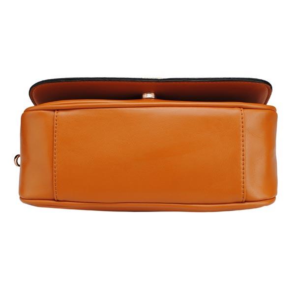 Women PU Leather Handbag Shoulder Evening Clutch Bag