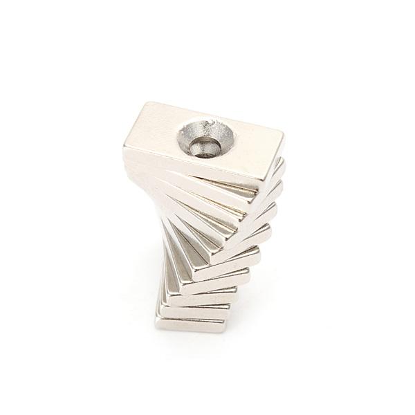 10PCS 20x10x3mm Neodymium Magnets Hole 4mm Rare Earth Magnet