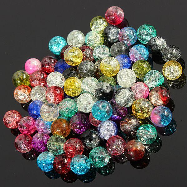 Crack Glass Beads