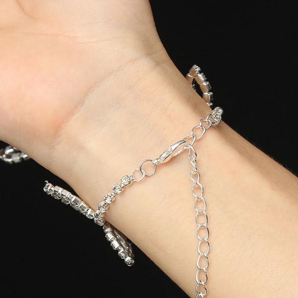 Leaves Crystal Metal Chain