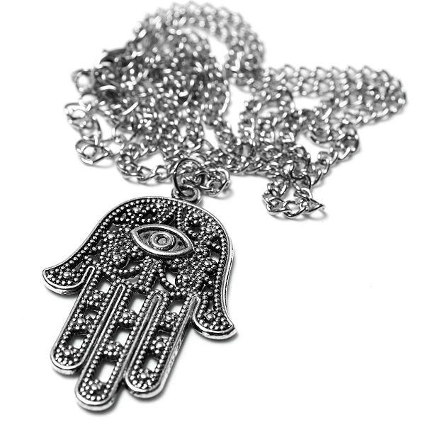 Hamsa Fatima Hand Necklace