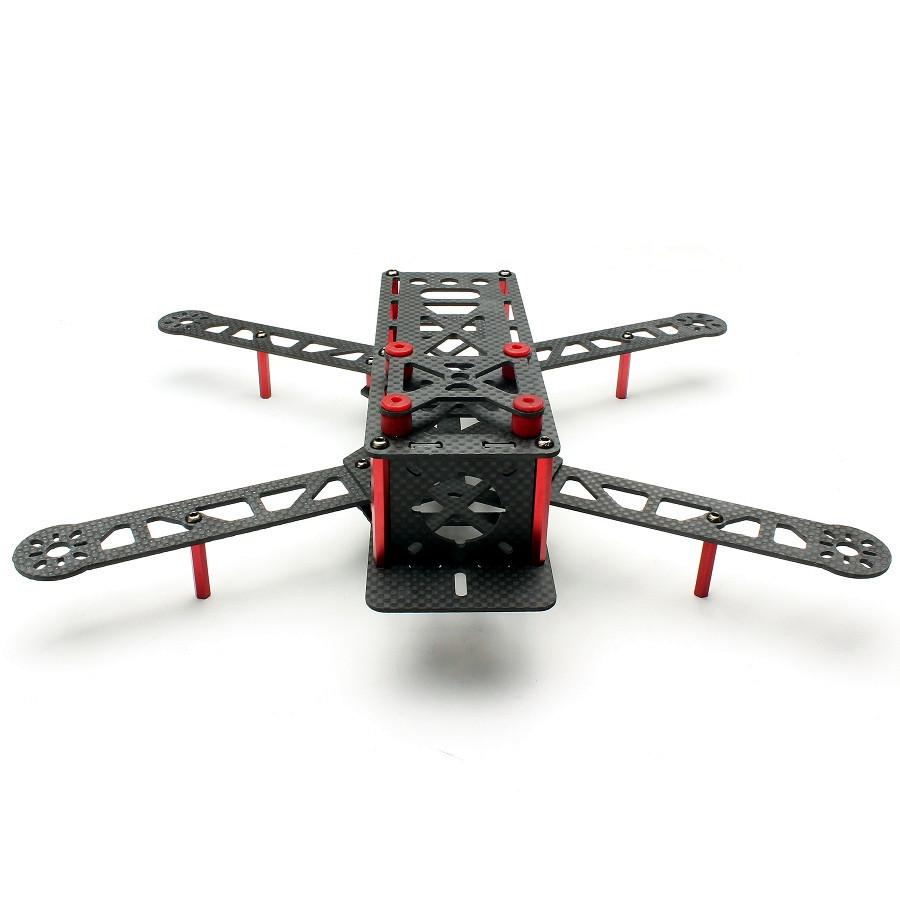 Fcmodel rc full carbon fiber mm mini frame kit for