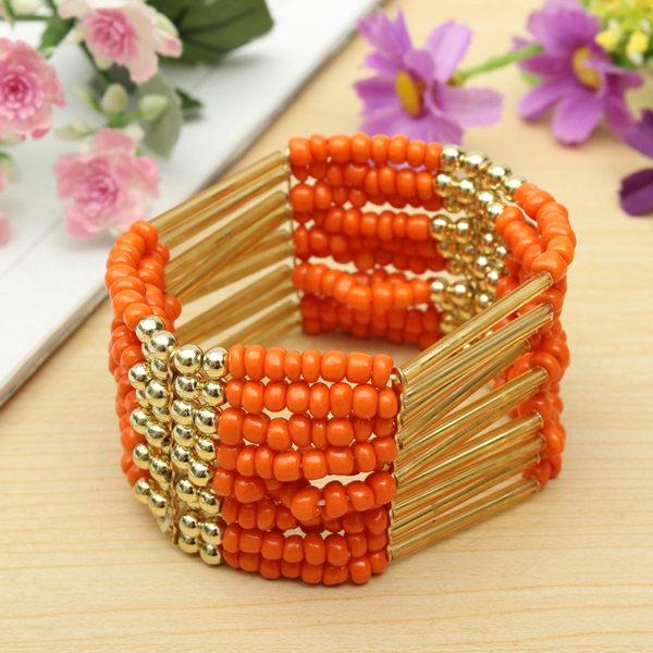 Bohemian Beaded Bracelet