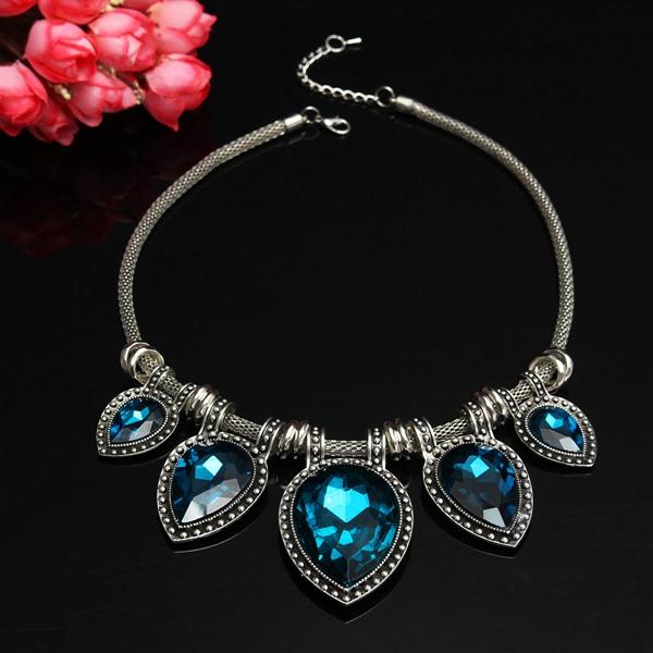 Waterdrop Crystal Necklace