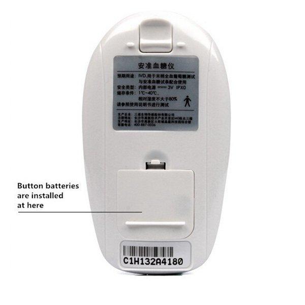 sannuo быстрое обнаружение метр мониторинга глюкозы в крови глюкометр