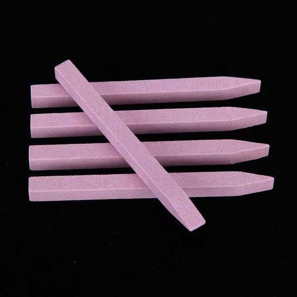 10pcs piedra del arte del clavo de lijado herramienta de pedicura búfer archivo