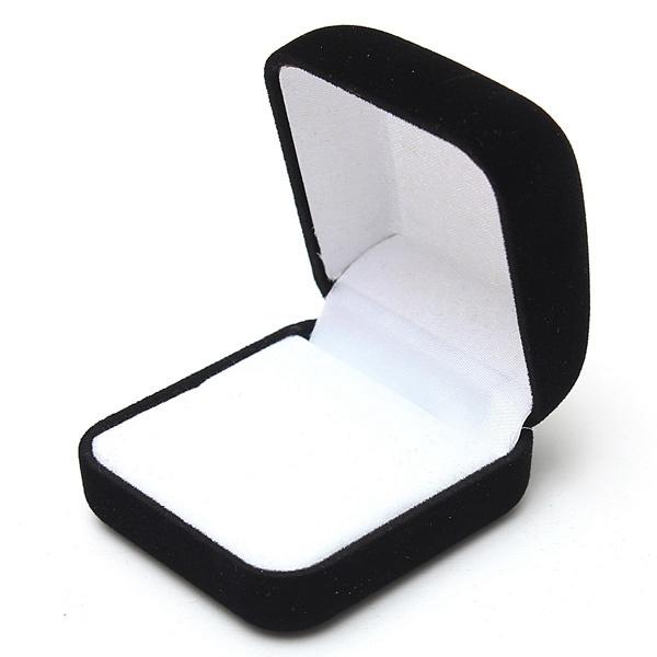 caja de la joyería de terciopelo