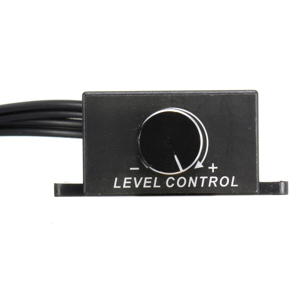 Universal Car Audio Amplifier Bass Rca Level Remote Volume