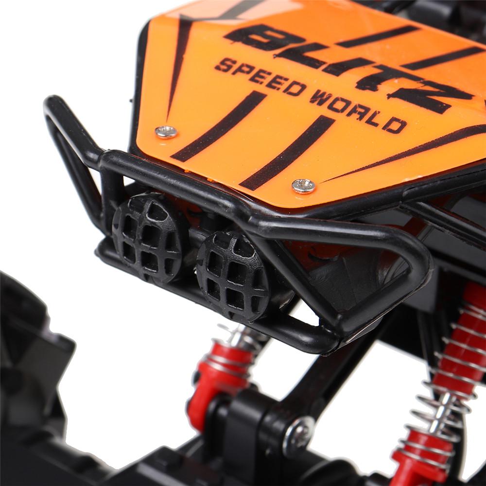 Feng Niu Toys 1/18 2.4G RWD Stunt RC Car EP Climbing Vehicles 360° Rotation with LED Light RTR Model - Photo: 10