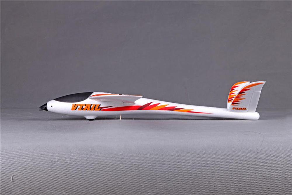 "FMS 800MM (31.5"") Wingspan EPO V-Tail RC Glider Airplane PNP for Beginner - Photo: 7"