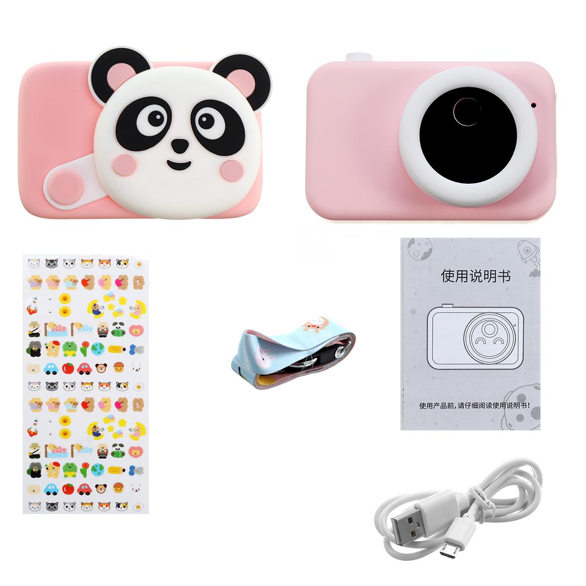 Creative Panda Cartoon Digital Camera Baby Photography Training Educational Toys with 16/32G TF Card for Kids Gift - Photo: 11