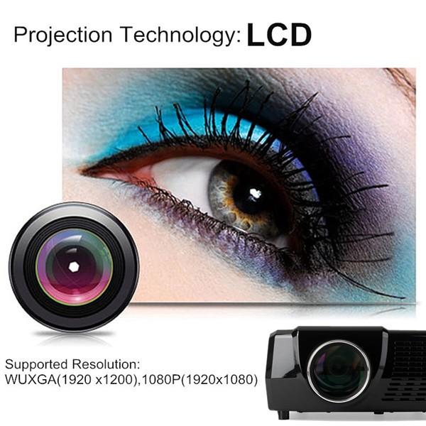 3000 Lumens HD Home Cinema projector