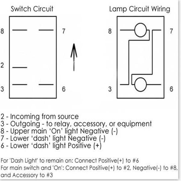 Details about 5 Pin 12V 24V Laser LED Light Bar Rocker Toggle Switch on