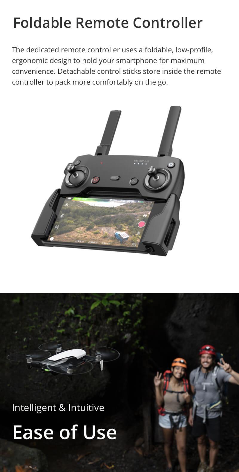 DJI Mavic Air 4KM FPV w/ 3-Axis Gimbal 4K Camera 32MP Sphere Panoramas RC Drone Quadcopter - Photo: 7