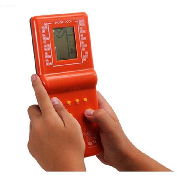 Tetris Game Hand Held LCD Electronic Game Toys Nostalgic Toys  - Photo: 2