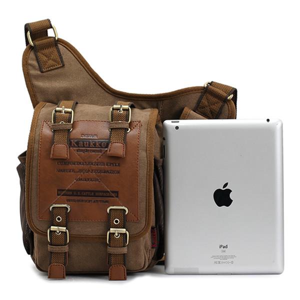 031e79ad2aaf Men s Retro Canvas Travel Shoulder Bags Messenger Bag