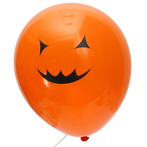 20Pcs Halloween Party Balloon Decoration Pumpkin Skull Balloon - Photo: 5