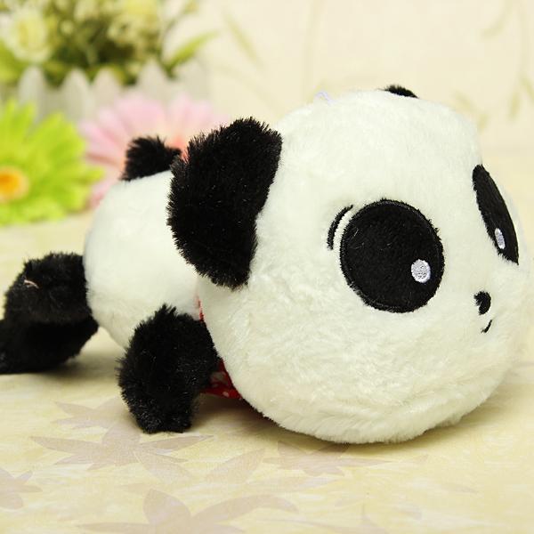 Cute Plush Doll Toy Stuffed Animal Panda Pillow Quality Bolster Gift - Photo: 13