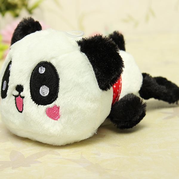 Cute Plush Doll Toy Stuffed Animal Panda Pillow Quality Bolster Gift - Photo: 6