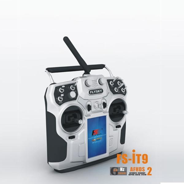 FS-i10 Flysky 2.4GHz 10CH AFHDS2 LCD Radio Transmitter /& Receiver for RC
