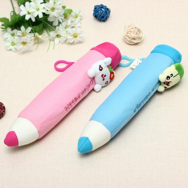 Morbido peluche cartone animato matita giocattoli