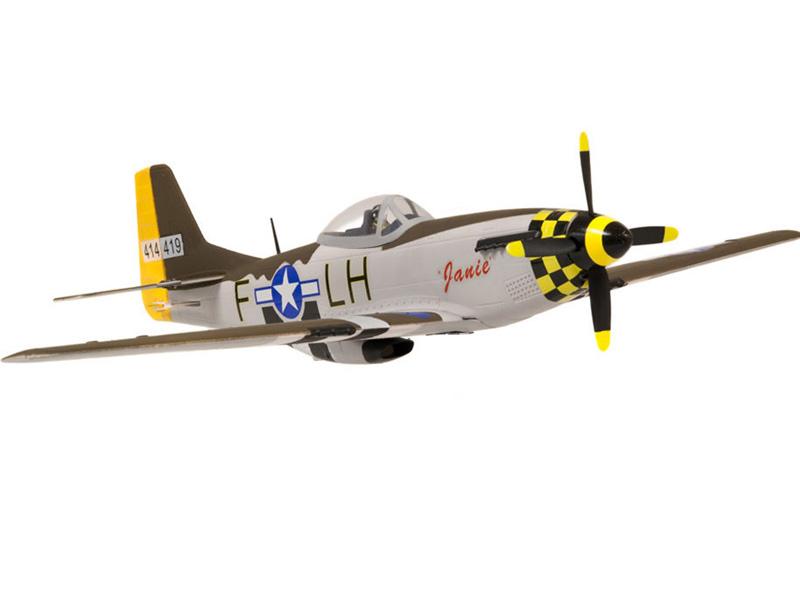 North American P-51D P51D Mustang 680mm RC Wingspan Warbird