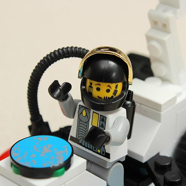 Enlighten Star Exploring Vehicle Space Series Blocks Toy NO.508 - Photo: 4