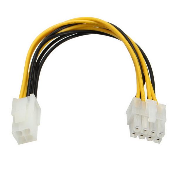 P4 материнских плат 8 контактов встроенного в вилку, чтобы штыри ГНБ 4 кабеля питания адаптера ведущего провода для ПК